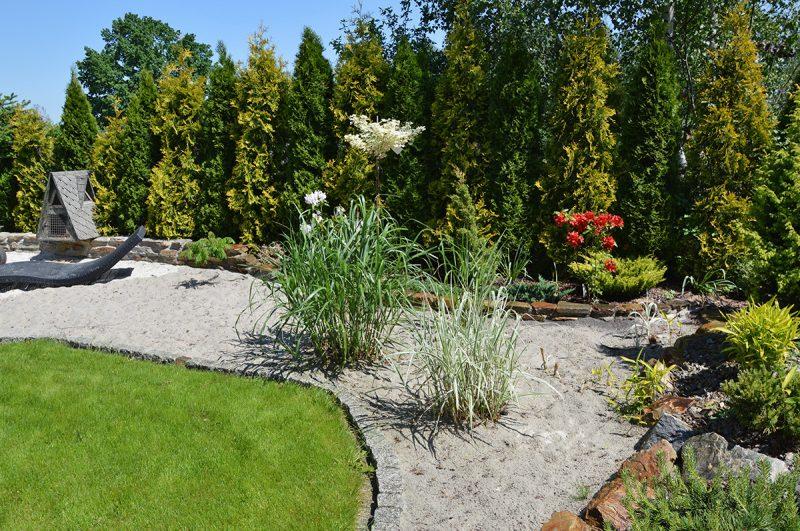 Zakładanie ogrodu - realizacje